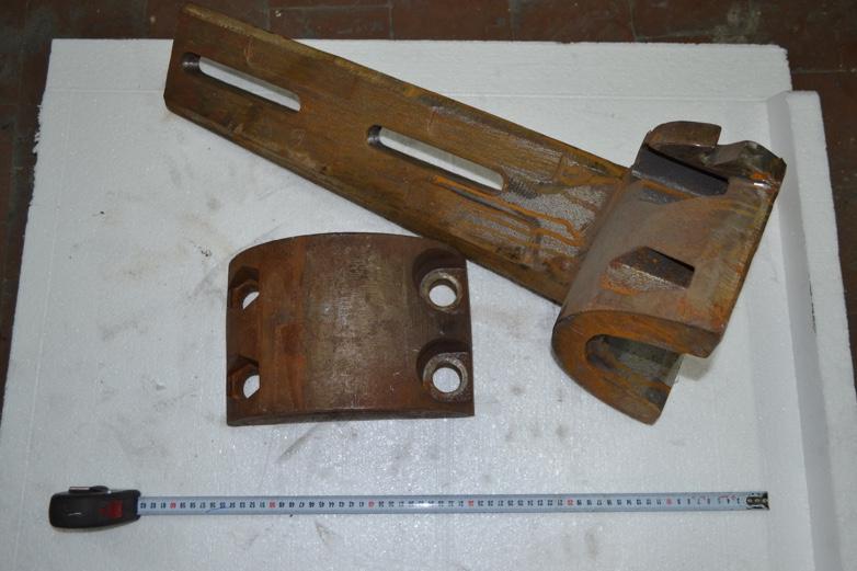 Рычаг и крышка смесителя (сталь 35Л), заказчик ПК Пчелы