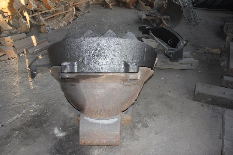 Козырек дражного черпака 250 литров (110Г13Л), чертеж 250Д1-81ХР, заказчик ЗАО «Прииск Удерейский»