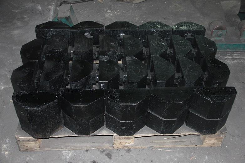 Клин щековой дробилки РЕ750Х1060 (110Г13Л), заказчик «СосновГео»